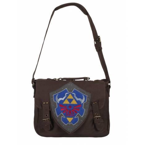 The Legend of Zelda - Brown Link Shield Messenger Bag (MB210116ZEL)