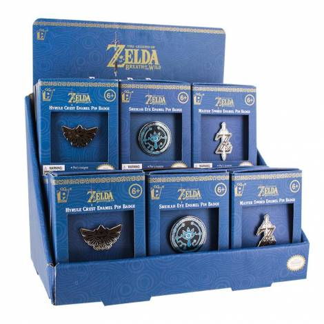 The Legend of Zelda - Enamel Pin Badges CDU 18pcs (PP4056NN)