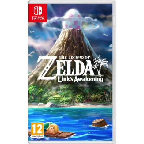 The Legend of Zelda: Link's Awakening (Nintendo Switch) & δώρο ένα Random Zelda Pin