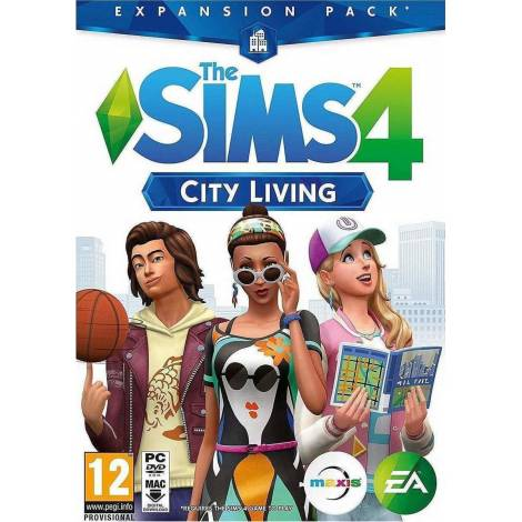 The Sims 4: City Living Expansion Pack - Origin CD Key (Κωδικός μόνο) (PC)
