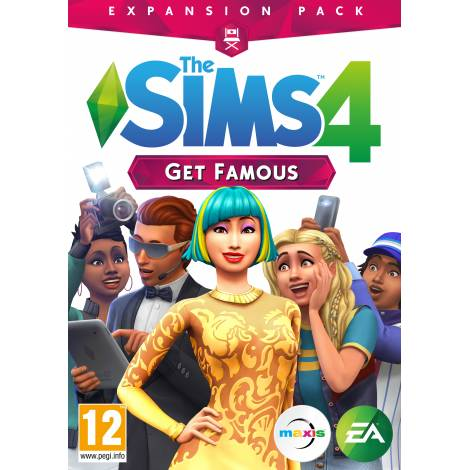THE SIMS 4 EP6 (GET FAMOUS) (PC)