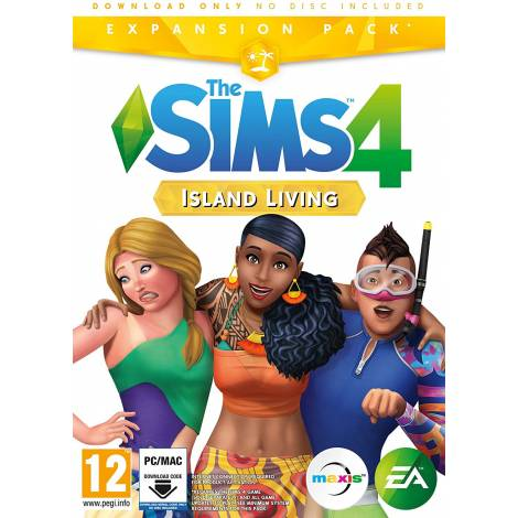 THE SIMS 4 EP7 (ISLAND LIVING) (Code In a Box) (PC)