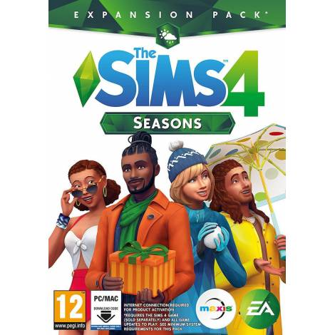 The Sims 4 Seasons (Expansion Pack) (PC) (Κωδικός Μόνο)