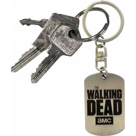 THE WALKING DEAD - Keychain Dog tag logo (ABYKEY081)