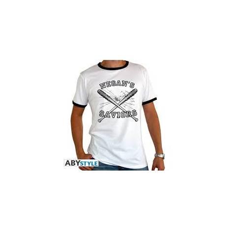 The Walking Dead - Negan's Saviors - Man White T-shirt - Size (S,M,L,XL,XXL)