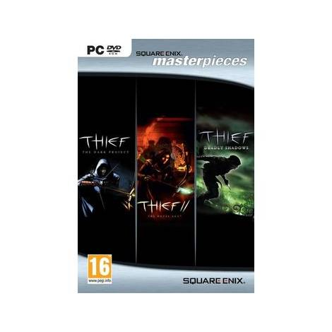 Thief Triple Pack (Dark Project, II Metal Age, Deadly Shadows) (PC)