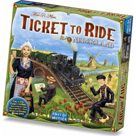 Ticket To Ride - Nederland (Expansion)