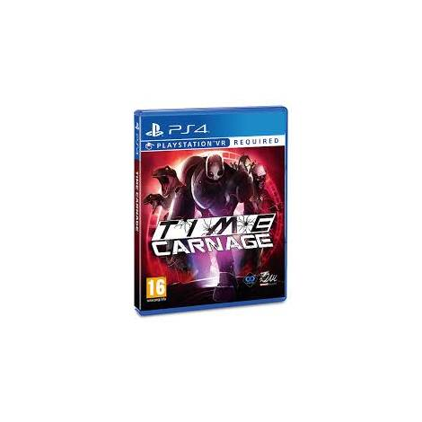 TIME CARNAGE (VR Required) (PS4)