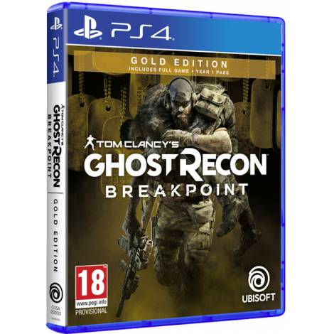 TOM CLANCY'S GHOST RECON BREAKPOINT (Gold Edition) (PS4) (Pre-Order Bonus)