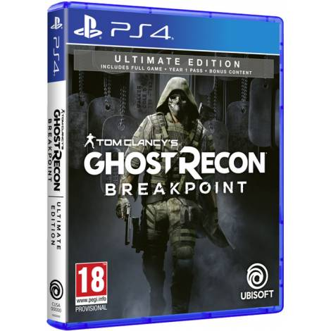 TOM CLANCY'S GHOST RECON BREAKPOINT (Ultimate Edition) (PS4) (Pre-Order Bonus)