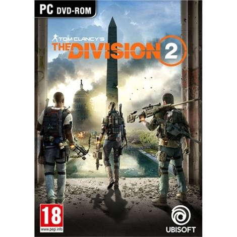 TOM CLANCY'S THE DIVISION 2  (PC) (Cd Key Only)