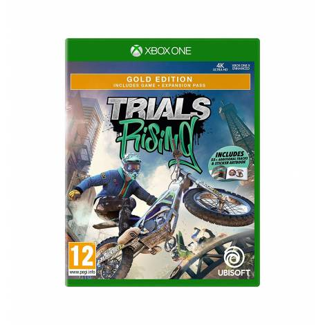 Trials Rising Gold (Xbox One) (55+ Additional Tracks & Sticker Artbook)