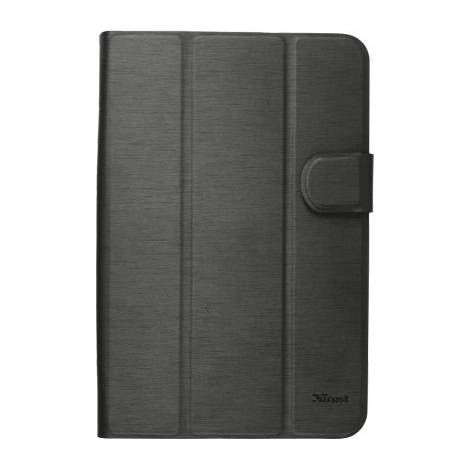 TRUST AEXXO Universal Folio Case For 7-8 Tablets Black - (21067)