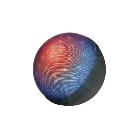 TRUST Dixxo ORB Bluetooth Wireless Speaker with party lights - Φορητό ηχείο - Μαύρο