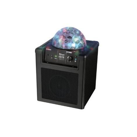 TRUST Fiesta Disco Lite Rechargeable Wireless Speaker - Φορητό ηχείο - Μαύρο