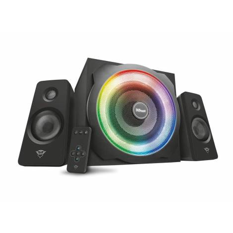 Trust Gaming 22944 Rgb-Illuminated 2.1 Speaker Set - Black
