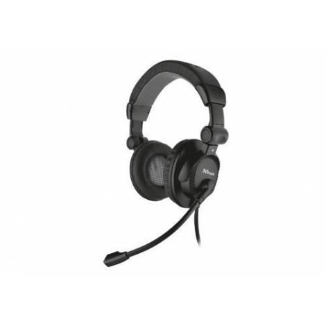Trust Headset Como Black (21658)