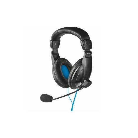 Trust Headset USB Quasar Black (16976)