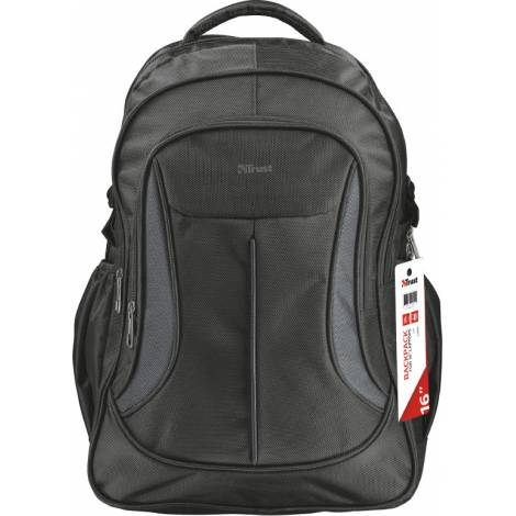 TRUST LIMA BACKPACK FOR LAPTOPS ΜΑΥΡΟ  (22325)