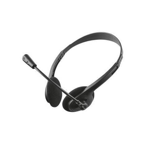 Trust Primo II - Ακουστικά - Μαύρο (21665)