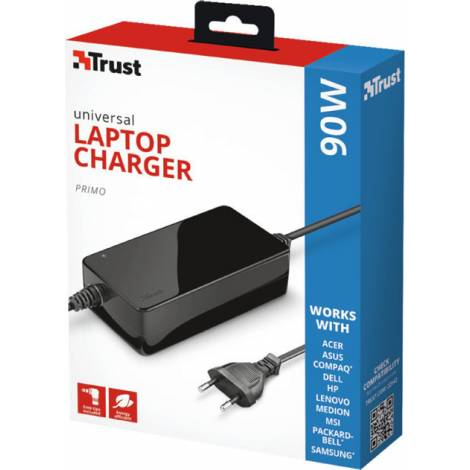 Trust Primo Laptop Charger 90W-19V (22142)