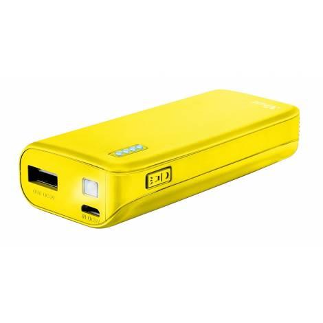 Trust Urban 4400 mAh Primo Power Bank - Neon Yellow