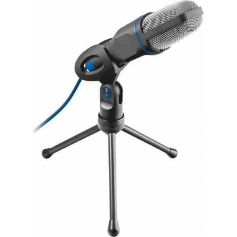 Trust USB Microphone Mico (3,5mm Jack & Usb Adapter) (20378)
