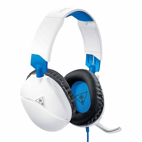 Turtle Beach Recon 70P White Gaming Headset for PS4, (Xbox One, Nintendo Switch,PC)