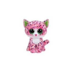 TY BEANIE BOO - SOPHIE PINK CAT PLUSH TOY (15cm) (1607-36189)