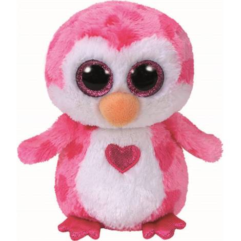 TY Beanie Boo - Valentines JULIET Pink Penguin (15cm) (1607-36865)