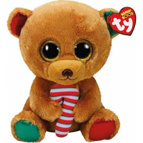 TY Beanie Boos - Bella the Christmas Bear Plush Toy (23cm) (1607-37251)
