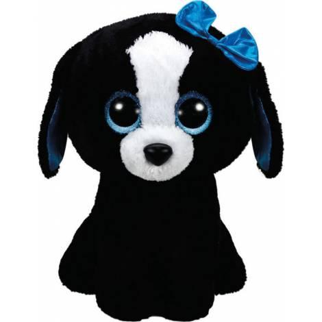 TY Beanie Boos - Tracey Black/White Dog (40cm) (1607-36839)