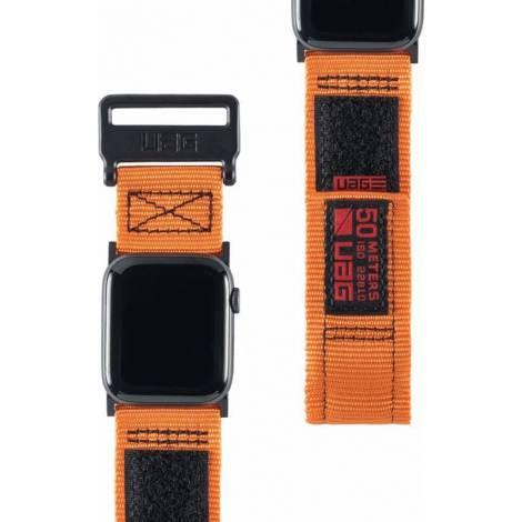 UAG Active Strap for Apple Watch (42/44mm), Orange