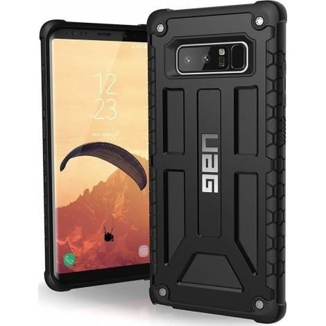 UAG Monarch Θήκη για Galaxy Note 8 σε χρώμα μαύρο (NOTE8-M-BLK)