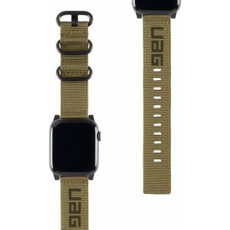 UAG Nato Strap for Apple Watch (42/44mm), Olive Drab