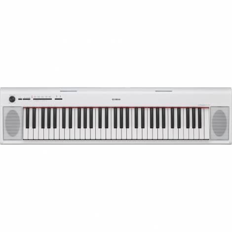 ΥΑΜΑΗΑ NP-12 Piaggero Αρμόνιο/Keyboard Λευκό ( Piano - Style )