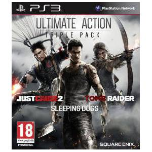 Ultimate Action Triple Pack (Just Cause 2/Sleeping Dogs/Tomb Raider) (PS3)