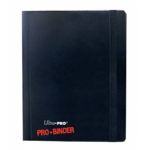 Ultra Pro 4-Pocket Pro Binder Holds 160 Cards Black