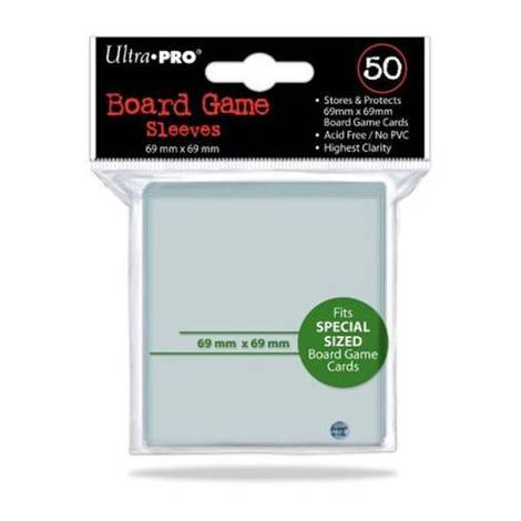 Ultra Pro Board Game 50 Sleeves - 69x69