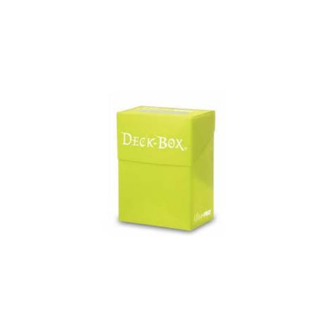 Ultra Pro Deck Box - Bright Yellow