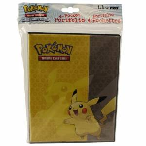 Ultra Pro - Pikachu 4 Pocket Portfolio