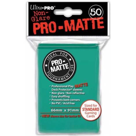 Ultra Pro - Pro Matte Standard 50 Sleeves Aqua