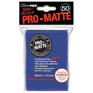Ultra Pro - Pro Matte Standard 50 Sleeves Blue