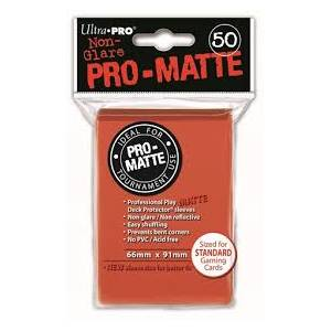 Ultra Pro - Pro Matte Standard 50 Sleeves Peach