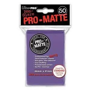 Ultra Pro - Pro Matte Standard 50 Sleeves Purple