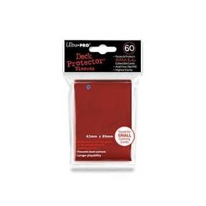 Ultra Pro - Small 60 Sleeves Red