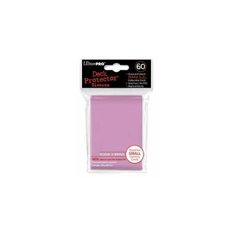 Ultra Pro - Small Solid Pink 60 Sleeves