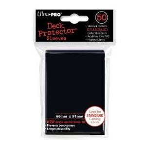 Ultra Pro Standard 50 Sleeves Black