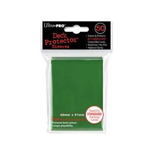 Ultra Pro - Standard 50 Sleeves Solid Green
