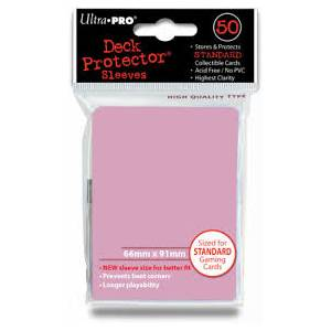 Ultra Pro - Standard 50 Sleeves Solid Pink